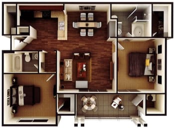 Floor Plan The Bradford
