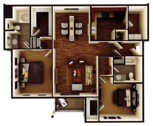 Floor Plan The Charlotte