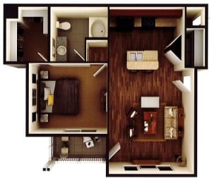Floor Plan The Richland