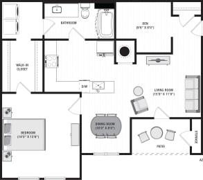 Avalon A2 Floor Plan