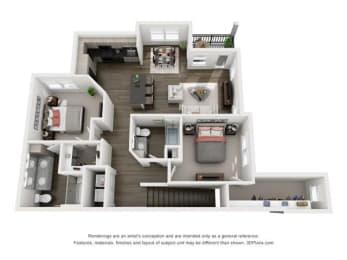 Floor Plan Barbuda