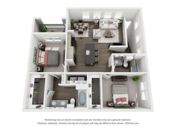 Floor Plan Caicos