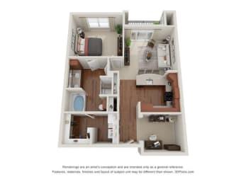 Floor Plan Cozumel