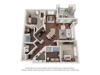 Floor Plan San Juan