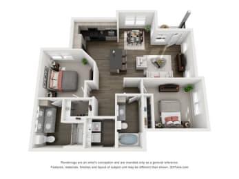 Floor Plan St. Barts Mansion Home