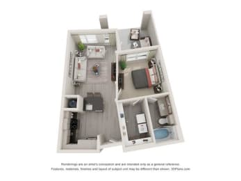 Floor Plan St. Johns