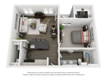Floor Plan Tortola ADA Mansion Home
