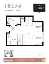 Floor Plan The Lena (L-A)