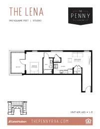 Floor Plan The Lena (L-D)