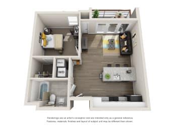 Floor Plan The Miles (M-K)