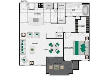 A3_2 Floorplan for arlo westchase