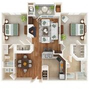Floor Plan The Greenspring