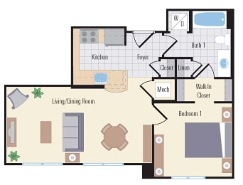 Floor Plan AA1