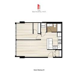 Floor Plan Henri Matisse 3