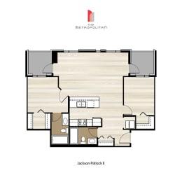 Floor Plan Jackson Pollock 2