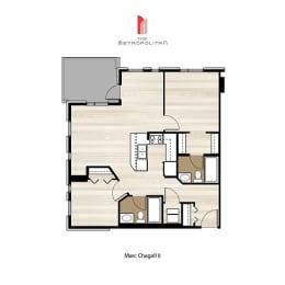 Floor Plan Marc Chagall 2