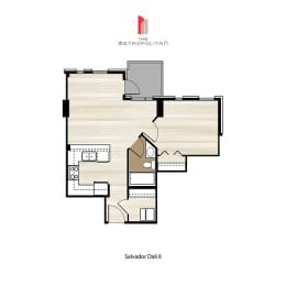 Floor Plan Salvador Dali 2