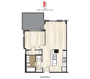Floor Plan Andy Warhol