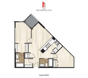 Floor Plan Gustav Klimt