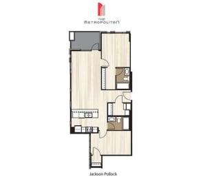 Floor Plan Jackson Pollock 1
