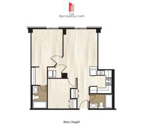 Floor Plan Marc Chagall 1