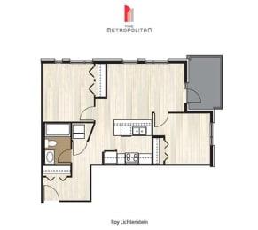 Floor Plan Roy Lichtenstein