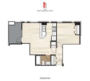 Floor Plan Salvador Dali 1