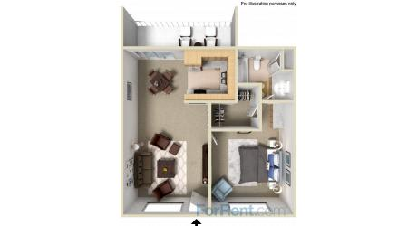 Point Bonita Apartment Homes - 1 Bedroom 1 Bath Apartment