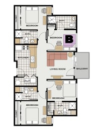 Floor Plan GT Individual Room B