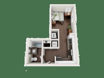 Floor Plan Studio A1