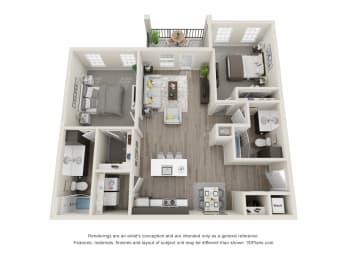 Floor Plan Spruce Front