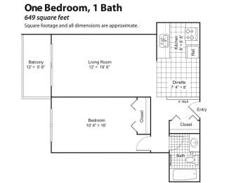 Colonial Terrace - floorplan