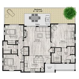 The Haven Floor Plan at Avilla Prairie Center, Brighton, CO