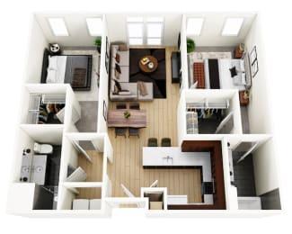 Floor Plan Krohn