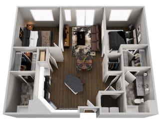Floor Plan Monastery