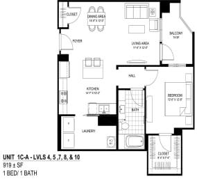 Floor Plan 1CA