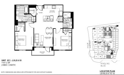 Floor Plan 2C1