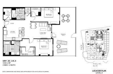 Floor Plan 2S