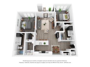 Blue Spruce (ADA) Floor Plan