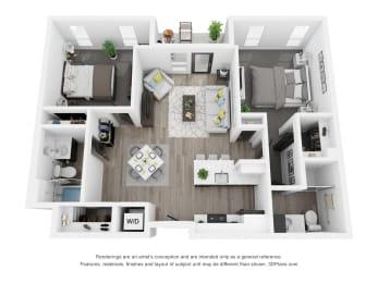 Cedar Front Floor Plan
