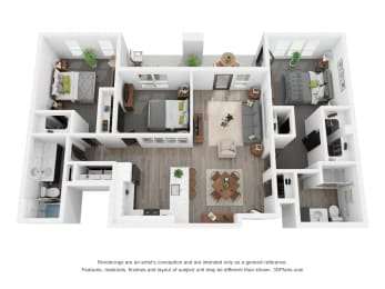 Blue Laurel (ADA) Floor Plan