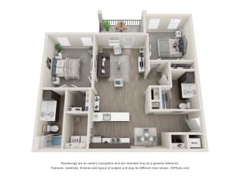 Floor Plan Blue Spruce