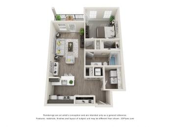 Floor Plan Juniper Front
