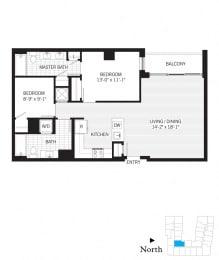 Floor Plan Turing b01