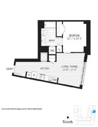 Floor Plan Whitney aj5m (Income Restricted)