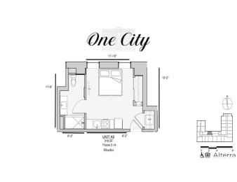 One City A5 Floor Plan