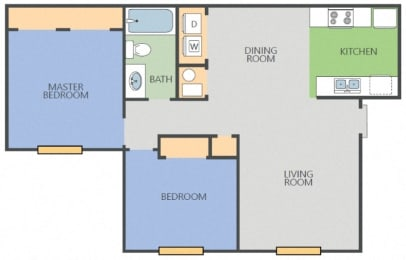 Floor Plan Island AC