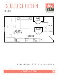 Floor Plan Estudio Collection (Studio, S2)