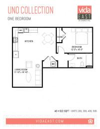 Floor Plan Uno Collection