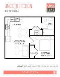 Floor Plan Uno Collection (A26)